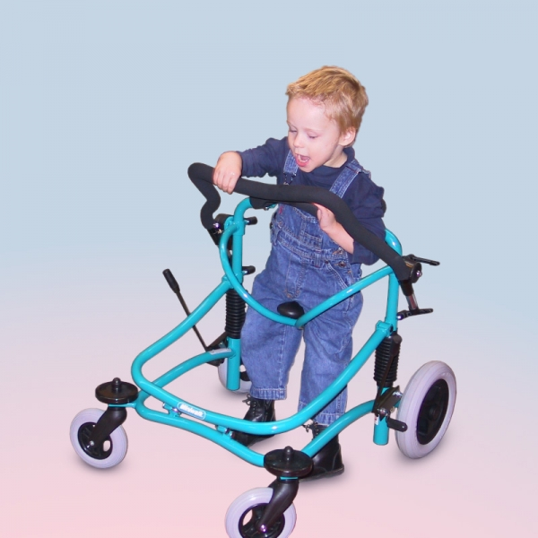 Miniwalk Pediatric Gait Trainer - In use